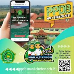 PPDB MAN 4 Cirebon 2021