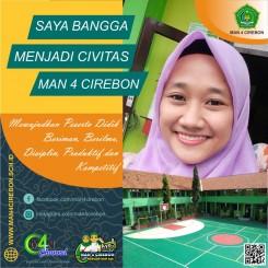 Bangga Menjadi Civitas MAN 4 Cirebon
