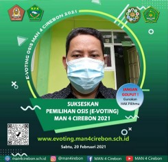 E-Voting OSIS MAN 4 Cirebon
