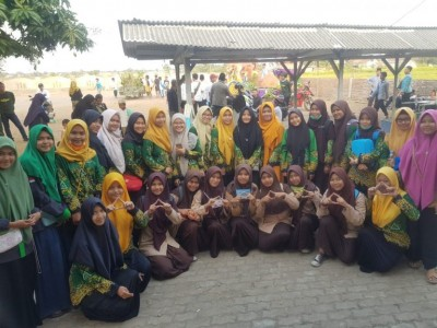 PK IPPNU MAN 4 Cirebon Turut Meriahkan Tahun Baru Hijriyah 1441