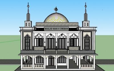 Renovasi dan Pembangunan Masjid MAN 4 Cirebon Tahun 2020