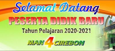 PPDB MAN 4 Cirebon TP. 2020/2021