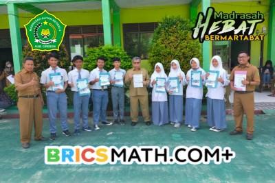 MAN 4 Cirebon Masuk 10 Besar Sekolah di Indonesia dalam Olimpiade Matematika
