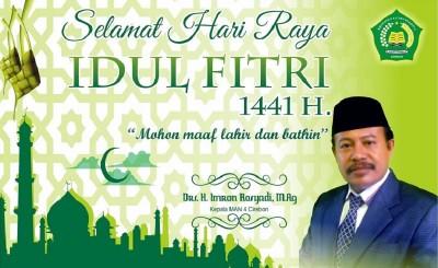 Idul Fitri 1441 Hijriyah, jatuh pada hari Minggu 24 Mei 2020
