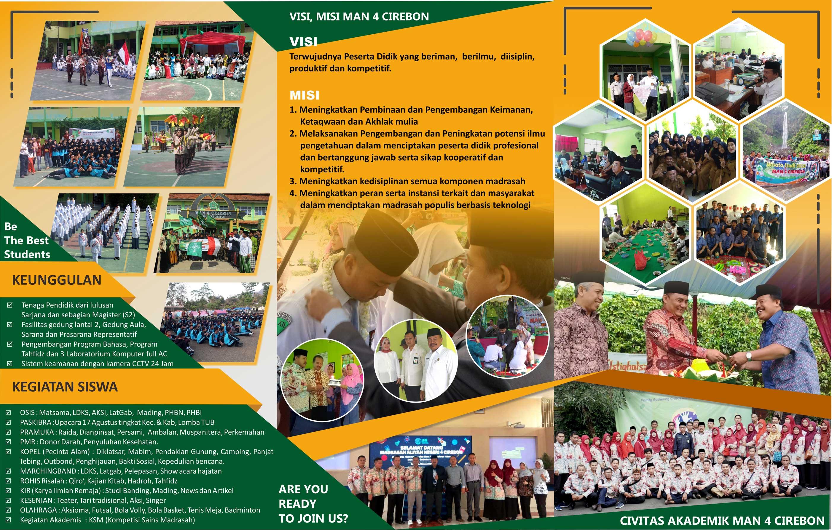 Brosur PPDB MAN 4 Cirebon 2020 B