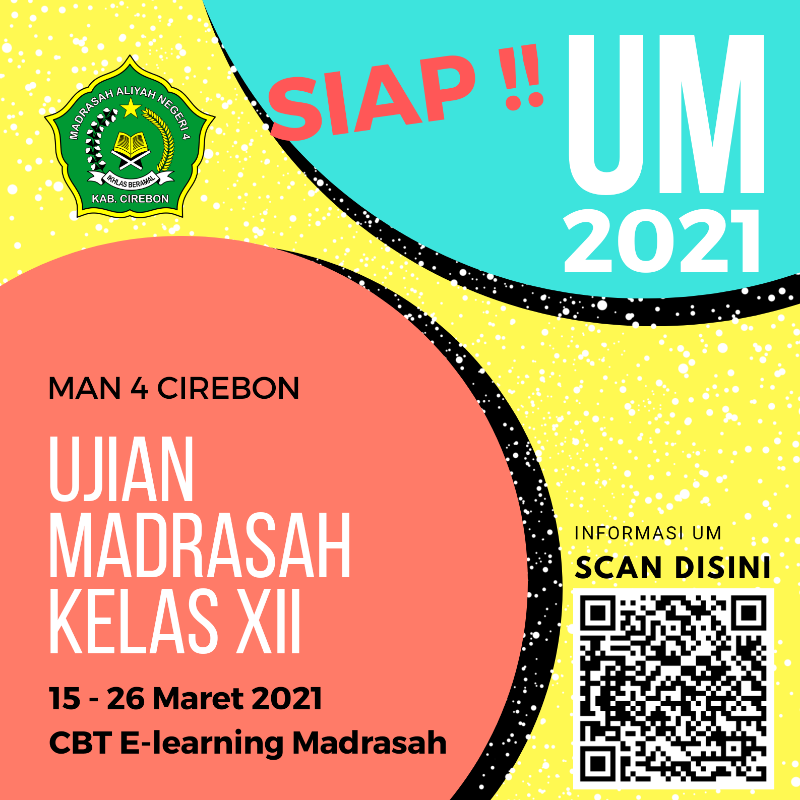 Infografis UM MAN 4 Cirebon 2021